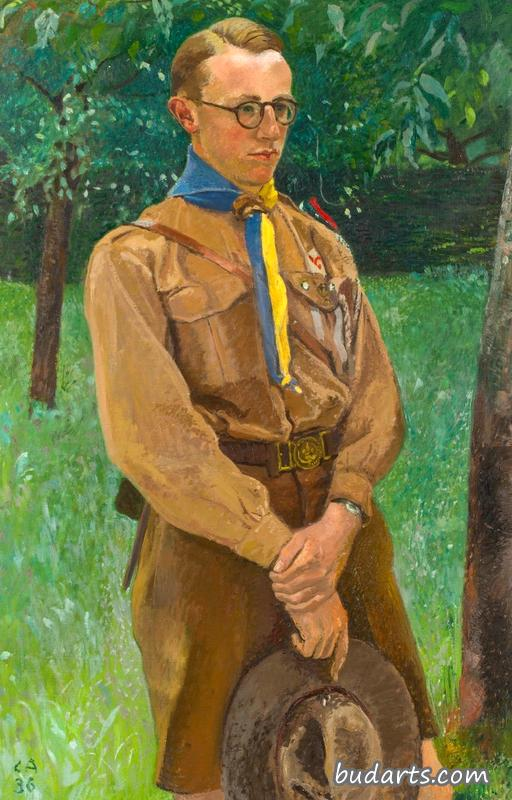Portrait of a Boy Scout