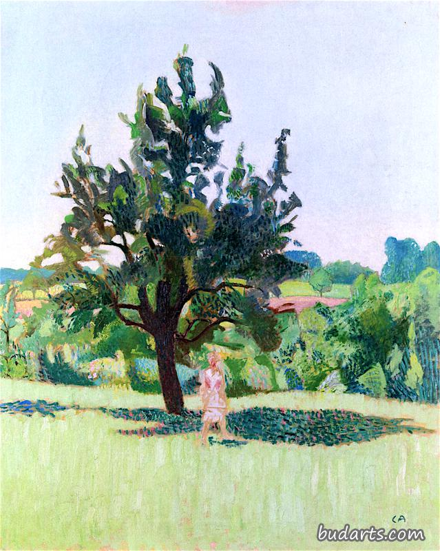 Tree with Figure
