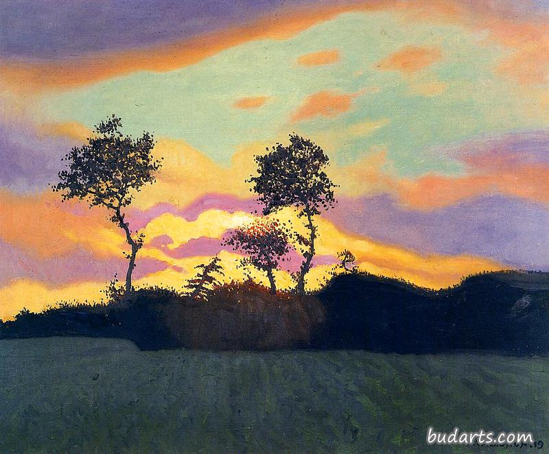 Landscape at Sunset