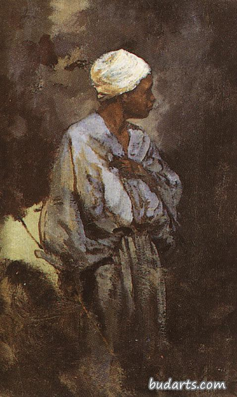 The Donkey Driver in Cairo