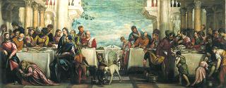 Banquet Scene - Feast at the House of Simon